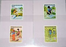 CONGO KONGO BRAZZAVILLE 1982 859-62 631-34 DELUXE Boy Scouts Pfadfinder MNH