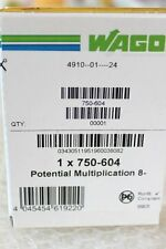 Wago 750-604 potentiel reproduction borne DC 0 v NEUF