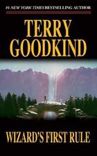 Sword of Truth Ser.: Wizard's First Rule by Terry Goodkind (1997, Mass Market, Revised edition)