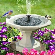 More details for solar powered water feature pump floating garden pool pond bird bath fountain uk