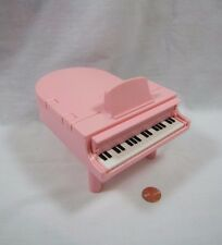 Playskool Dollhouse PINK PIANO MUSICAL WORKING Plays 8 songs Victorian Dollhouse