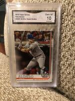Pete Alonso Rookie All Star Game 2019 Topps Update Graded 10 Mets