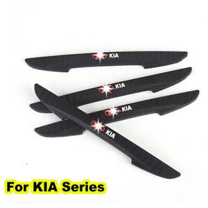 4PCS For KIA Car Door Protector Door Side Edge Protection Guards Stickers Decals