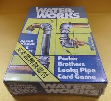 Parker Brothers Waterworks Card Game No.770 (LEAKY PIPE CARD GAME) Brand New