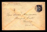 Germany 1889 20Pf Cover to USA  - Z14039