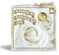 2016 Canada Wedding Gift Set of Coins