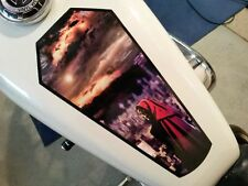 2017 Grim Reaper - Coffin - fuel tank & fender 6pc Set Harley & all motorcycles