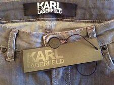 BNWT 100% auth Karl Lagerfeld Slim Fit / Skinny Grey Jeans. 28 RRP £340