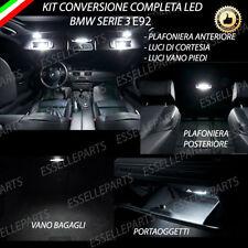 KIT LED INTERNI BMW SERIE 3 E92 COUPE ' CONVERSIONE COMPLETA + VANO PIEDI