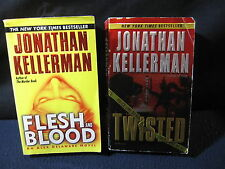 Kellerman: Twisted and Flesh and Blood - Includes Shipping!!
