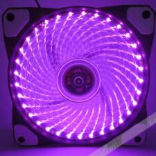 DIY DC 12V 120x120mm Neon 3PIN 4PIN PC Computer Case Cooling Fan w/ LED Lights