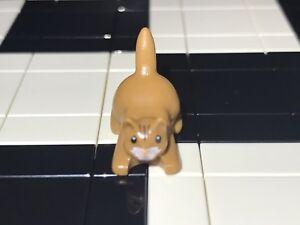 Lego Cat / Kitten Minifigure X1 / Land Animal / Pet / Zoo / Wild / Spare