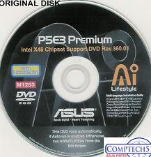 ASUS GENUINE VINTAGE ORIGINAL DISK FOR P5E3 PREMIUM WIFI  Disk M1283