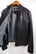 ARMANI COLLEZIONI  Leather Jacket Size 42