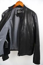 ARMANI COLLEZIONI  Leather Jacket Size 42