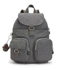 Bnew KIPLING Magnificent Pink Lovebug Backpack Bag, Grey