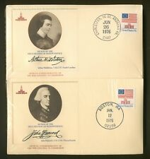 Signers of Declaration of Independence, 56 Covers Philadelphia 76 Comm-Fleetwood