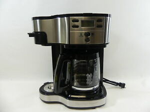 Hamilton Beach 2-Way Brewer Coffee Maker Stainless Steel (49980A)