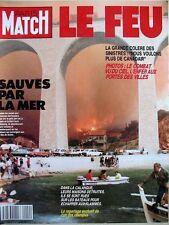 PARIS MATCH N° 2099 INCENDIE MARSEILLE HYERES JACKIE KENNEDY PATRICIA KAAS 1989