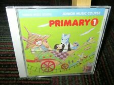 YAMAHA MUSIC SCHOOL: JUNIOR MUSIC COURSE - PRIMARY 1 AUDIO CD, 26 TRACKS JAPAN