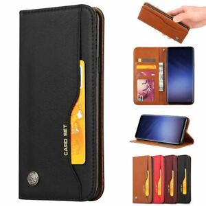 For Samsung Galaxy Phone Luxury Flip Leather Stand Wallet Magnetic Case Cover