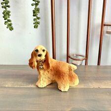 Tiny English Cocker Spaniel Dog Figurine Home Decor Collectible