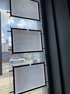 Illuminated Window Display Ideal For Estate Agent-  Travel Agent Or Hairdresser