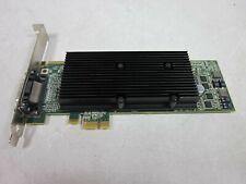 Matrox M9120-E512LAU1F PCI-Express 512MB DDR2 PCI-e x1 Video Card