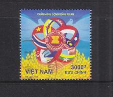 VIETNAM 2015 ASEAN COMMUNITY JOINT ISSUE (FLAGS) COMP. SET OF 1 STAMP FINE USED