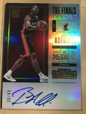 2017-18 Contenders Bam Adebayo The Finals Ticket Auto RC SSP On Card #39/49 Hot!
