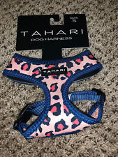 New listing Tahari Pink Leopard Print Chest Plate Harness Puppy Dog Size Large Nwt