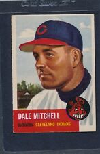 1953 Topps #026 Dale Mitchell Indians VG/EX 53T26-51515-5