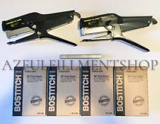 2 Bostitch P6c 8 Plier Stapler 4 Boxes Of Bostitch Stcr501938 5m 38 Staples
