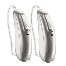 Pair of Phonak Marvel Audeo 312T M90 M70 M50 Telecoil Bluetooth Hearing Aids!