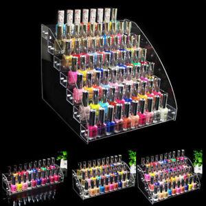 Multi-layer Nail Polish Rack Acrylic Makeup Display Stand Racks Organizer Holder