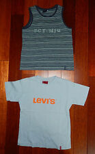 Lot de 2 Tshirt MC été garçon SERGENT MAJOR grand 5 ans = 6 a TBE