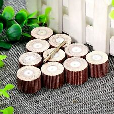 10Pcs Set 20mm Sanding Sandpaper Flap Wheel Pads for Power Rotary Accessories