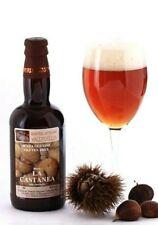 "Bière Artisanale sans Gluten - "" La Castanea "" Brasserie Vallecellio 33 CL"