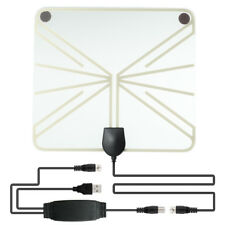50 -100Mile Range HDTV Clear View Antenna Digital Flat 1080P Amplified Booster