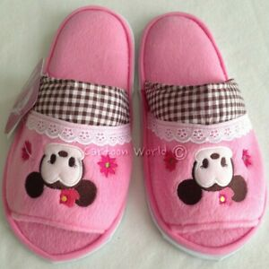 Disney Mickey Mouse Minnie Slippers Shoes Sandal US size 6-10, UK 4-8, EU 36-42