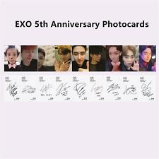 EXO 5th Anniversary Self Made Lomo Cards CHANYEOL D.O. Signature Photocards 9pcs