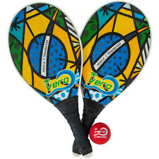 Frescobol Brasil Flag Animado Beach Paddle Kit
