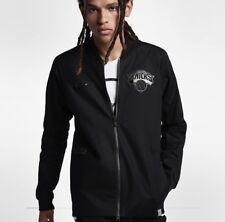 NEW YORK KNICKS NIKE MODERN Men's NBA Varsity Jacket Sz M 860820 010