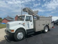 1999 International 4700 40 Ft Hi-Ranger Insulated Boom Bucket Truck Super Clean