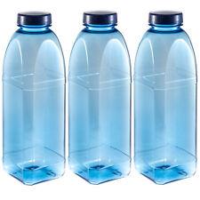 Ottagono Borraccia 3 x 1 L Tritan / sans BPA / Bottiglia per l'acqua per bevande