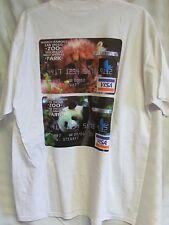 San Diego Zoo Park Platinum Visa Card Panda Bear Mens XL T-shirt NEW leopard cub