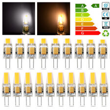 10x G4 LED COB 3W 6W 10W Light Dimmable Bulb Capsule Lamp Replace Halogen DC 12V