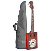 James Neligan Cask Series Acoustic Cigar Box Guitar with Gig Bag Included