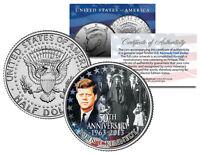 PRESIDENT KENNEDY ASSASSINATION Funeral Jackie Onassis JFK Half Dollar Coin