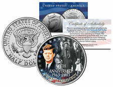 PRESIDENT KENNEDY ASSASSINATION Funeral Jackie Onassis JFK Half Dollar Coin